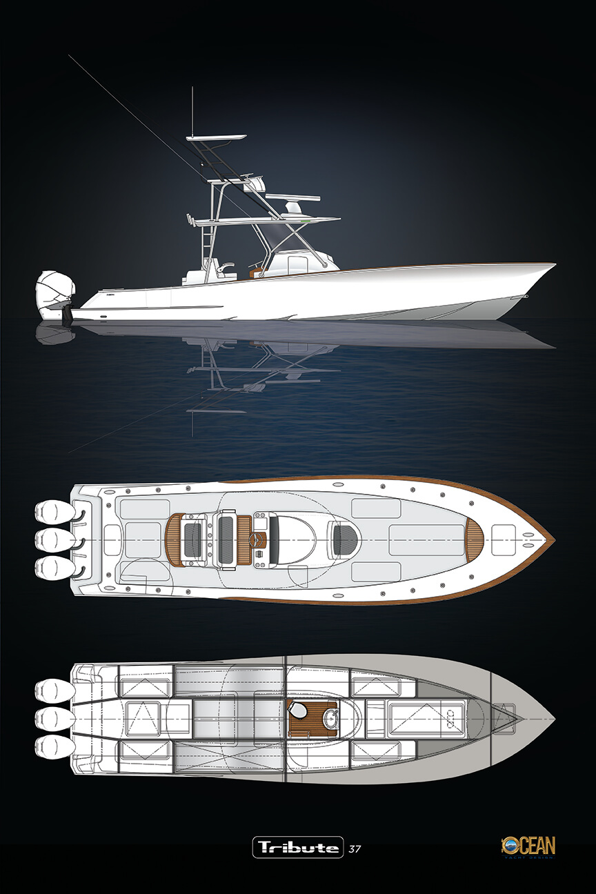 37 Tribute white hull 2